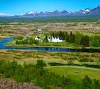 A summer shot of one of Iceland's three National Parks, Þingvellir.