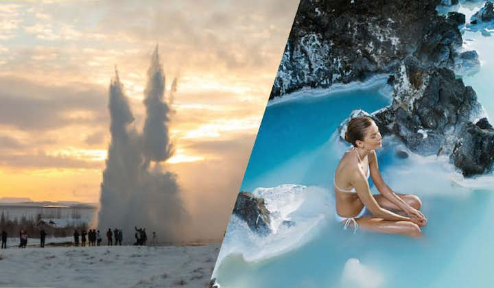 Combine two of Iceland's most popular destinations and visit both the Golden Circle and the Blue Lagoon in one day.