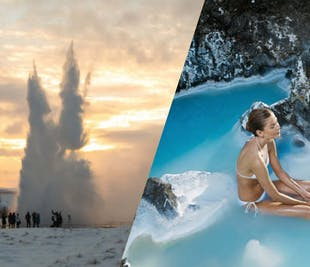 Golden Circle & a Visit to the Blue Lagoon   Admission Included