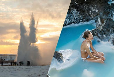 Golden Circle & a Visit to the Blue Lagoon | Admission Included