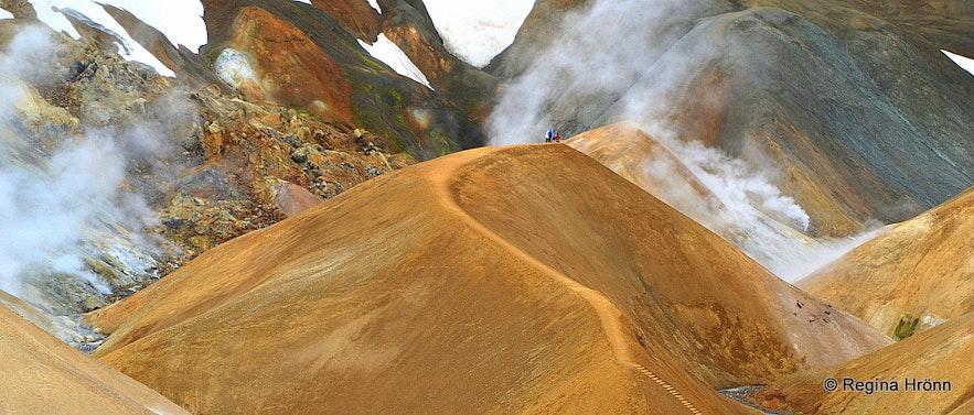Kerlingarfjöll geothermal area in Hveradalir