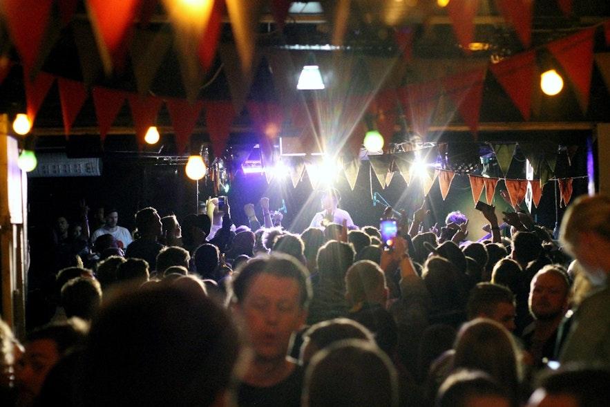 Innipúkinn ist das Reykjavík-Festival zum Wochenende der Kaufleute