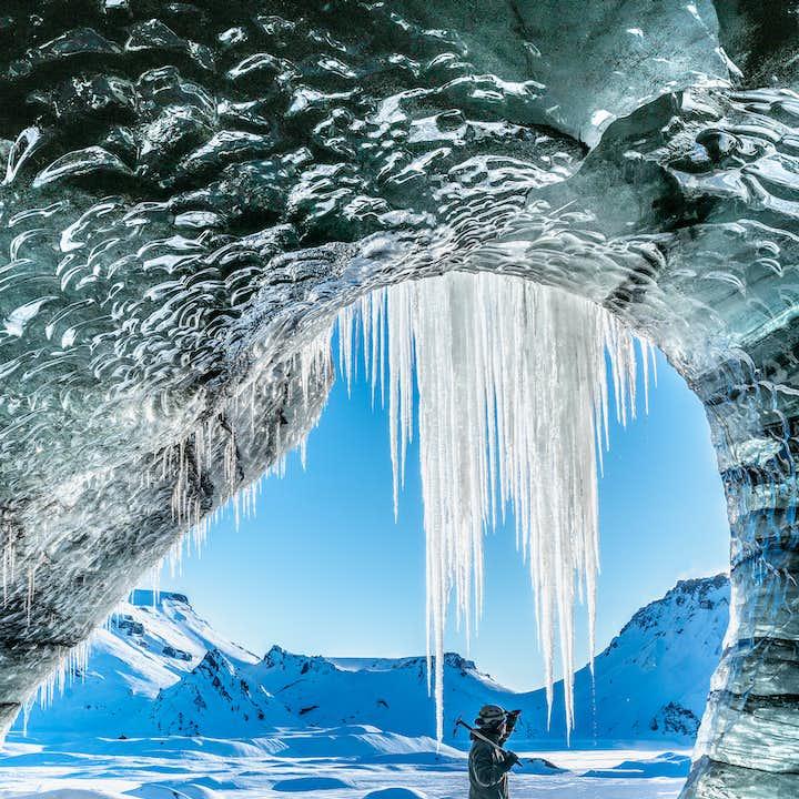 卡特拉冰洞+塞里雅兰瀑布 雷克雅未克出发一日游