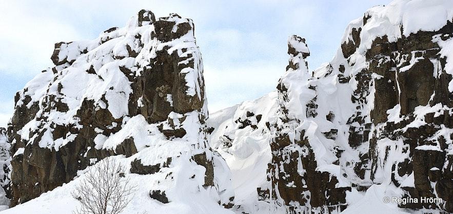 Þingvellir Stekkjargjá South-Iceland