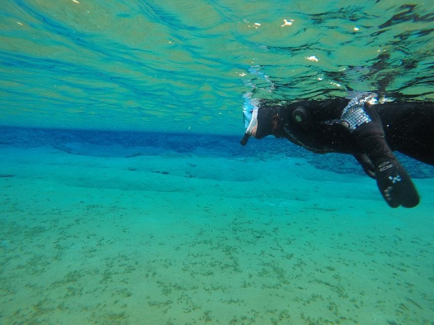 Мелководный отрезок называют Настоящей Голубой лагуной.