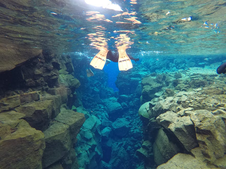 Snorkeling between Continents at the Silfra Fissure
