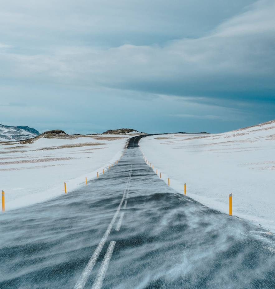 冰島冬季自駕路況