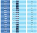 Transfery lotniskowe odbywają się regularnie z hali odlotów do Reykjaviku.
