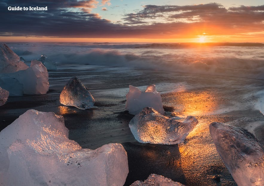 Guide to Iceland has a wealth of articles on a range of subjects, such as the Diamond Beach and glacier lagoon.