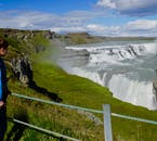 Gullfoss waterfall is the second most powerful waterfall in Iceland after its cousin in the North, Dettifoss which is the most powerful waterfall in Europe.
