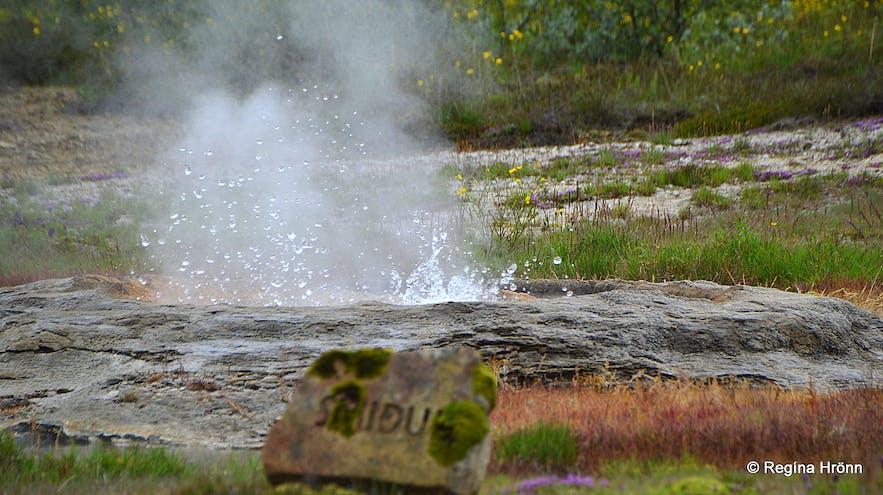 Smiður hot spring
