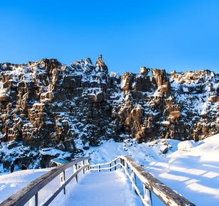 4-tägige geführte Winterreise | Golden Circle, Süd- und Ostisland