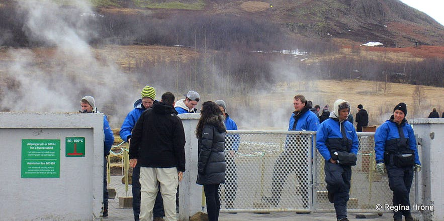 Geysir geothermal area - attempts at charging an entrance fee