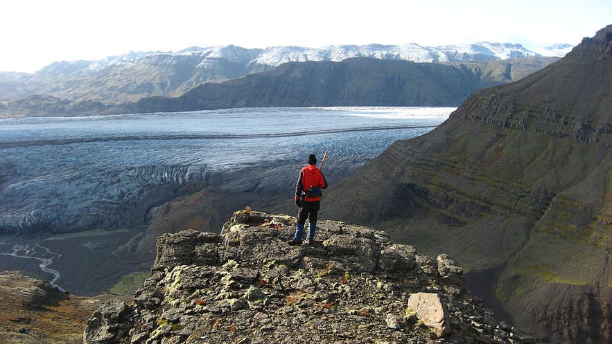 Hoffell is a farmland area in south east Iceland with beautiful glacier and sea views.