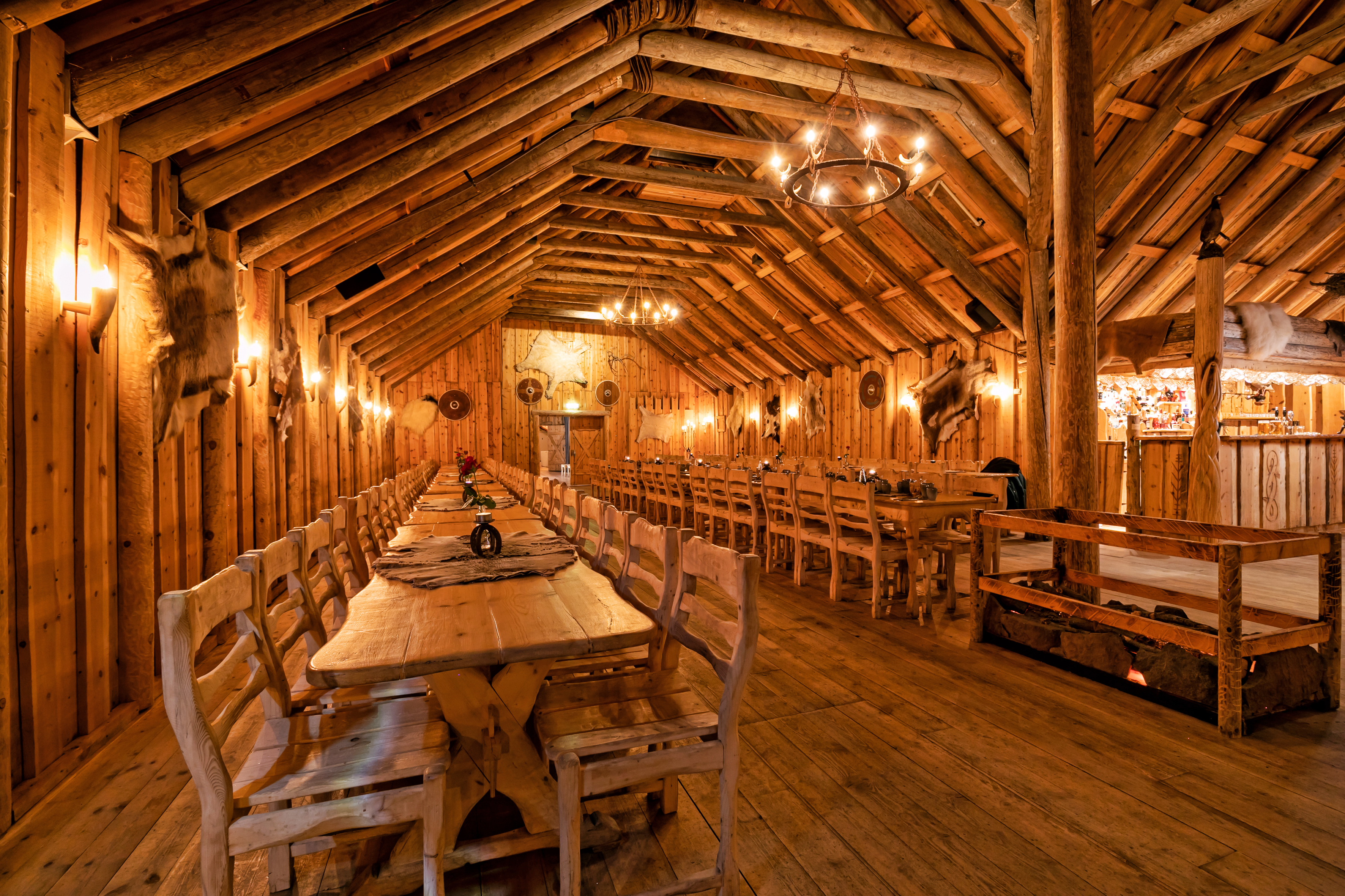 Book a dinner at the Ingólfsskáli longhouse and be transported back to the Viking Golden Age.