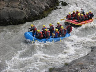 River Rafting in North Iceland for Cruise Ships to Akureyri