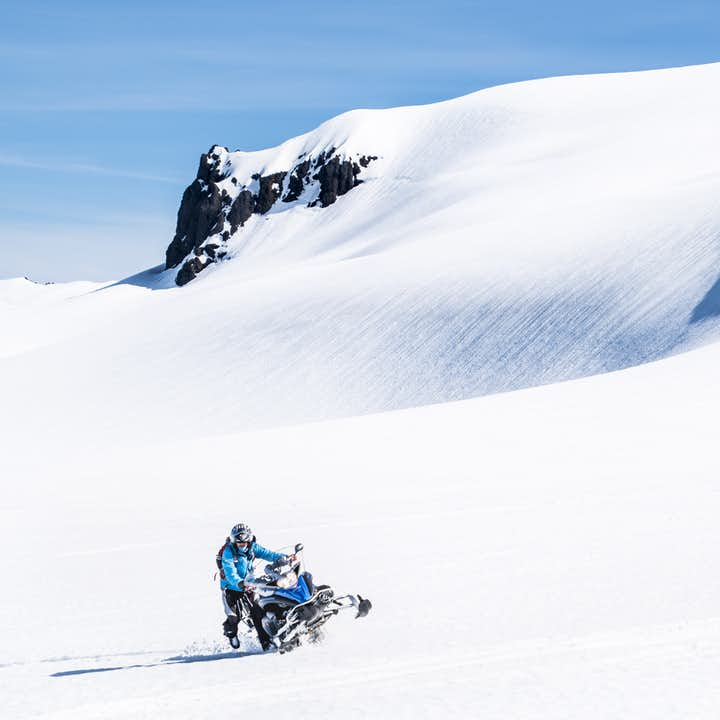 Exhilarating 3 Hour Glacier Snowmobiling Tour on Vatnajokull with Transfer from Hofn