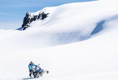 Snowmobile Tour on Vatnajokull Glacier