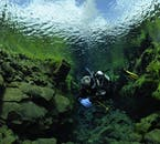 Explore the depths of the Silfra fissure in detail and make the most of the crystal clear waters.