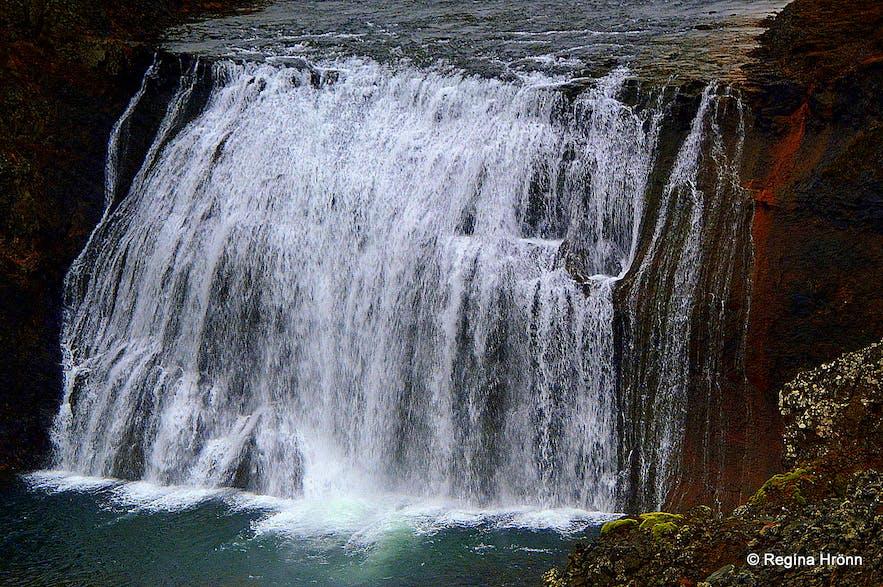 Þórufoss waterfall South-Iceland