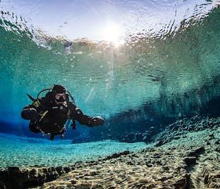 Tour de buceo con traje seco en Silfra | Recogida y regreso desde Reikiavik