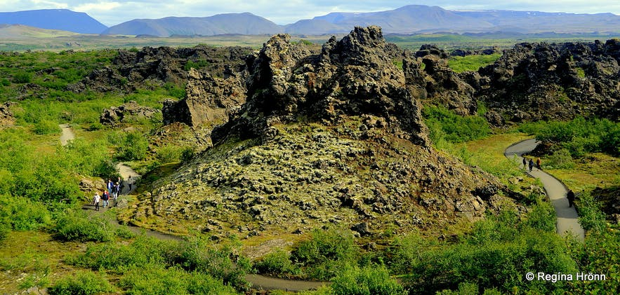 Dimmuborgir Mývatn North-Iceland