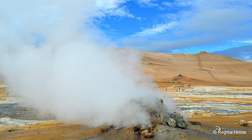 Hverir geothermal area Mt. Námafjall North-Iceland