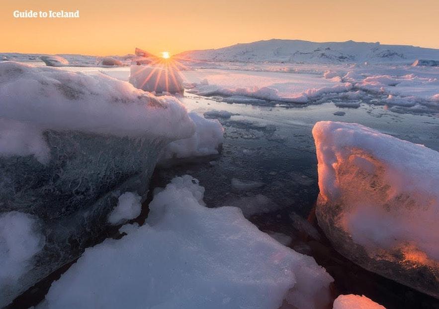 จะไม่มีการเรียกว่าดินแดนแห่งน้ำแข็งและไฟหากไม่เป็นเช่นนั้นจริงๆ.