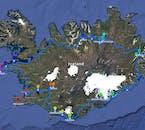 冬のアイスランド一周旅行|9泊10日・氷の洞窟探検オプション付き