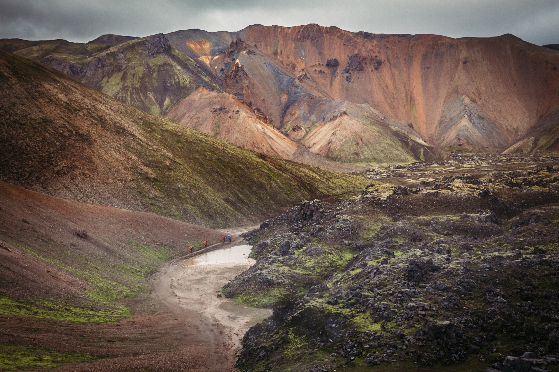 Adventurous 8 Day Hiking & Camping Tour in the Highlands of Isolated Iceland - day 2