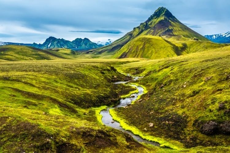 The Highlands of Iceland is a wild and barren but beautiful region.