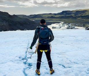 남부 해안과 빙하 하이킹 투어   레이캬비크에서 미니버스로 출발