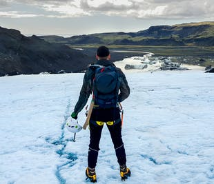 Glacier Hike and South Coast Minibus from Reykjavik