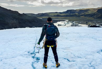 Glacier Hiking and South Coast Day Tour from Reykjavik