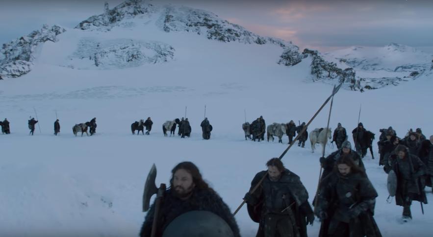 《权力的游戏》的冰岛取景地-米达尔斯冰原myrdalsjokull