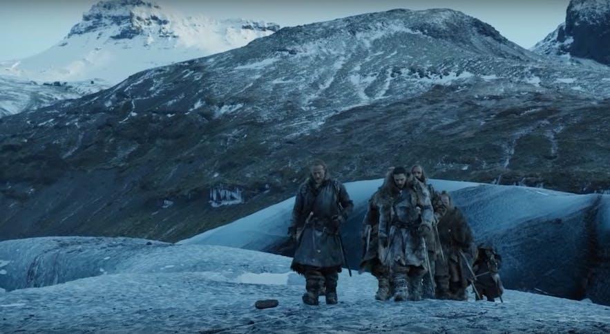 抓捕异鬼的地方-冰岛Gigjokull冰川