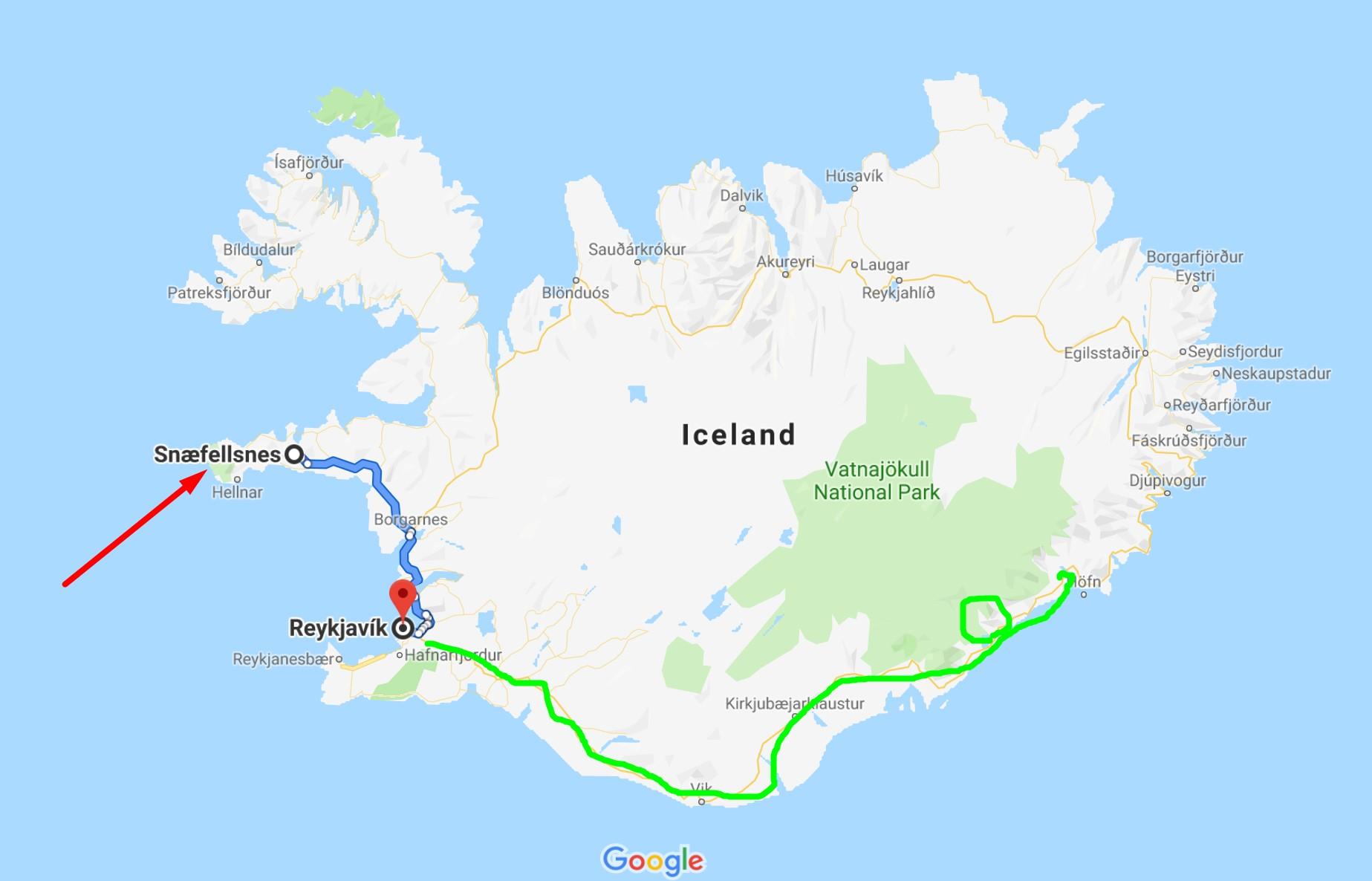 스나이펠스네스 반도 당일 투어 후기 - 아이슬란드의 아름다운 서부!