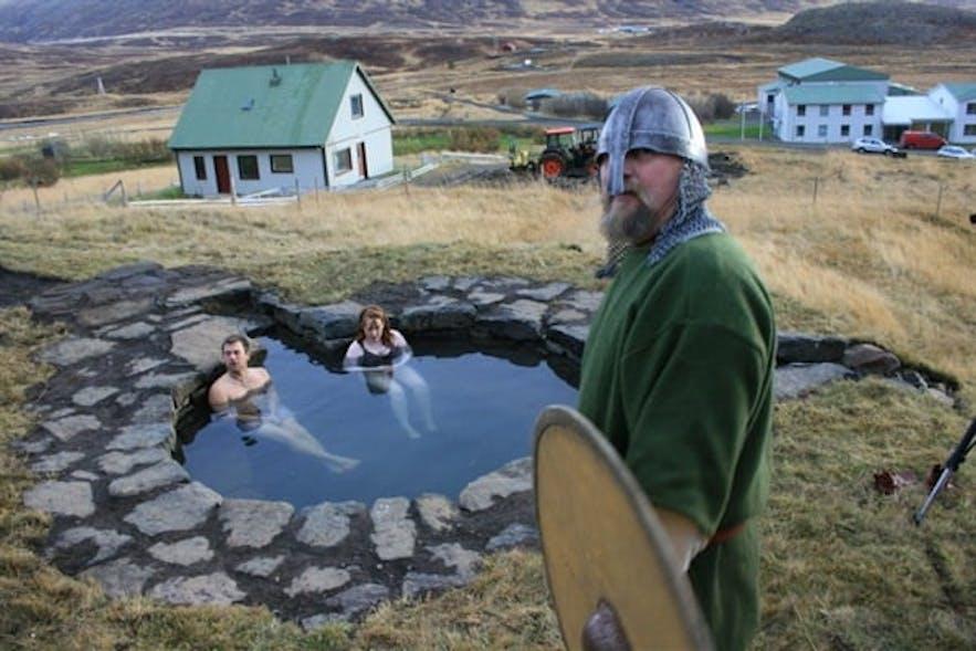 Gudrunarlaug泳池历史悠久