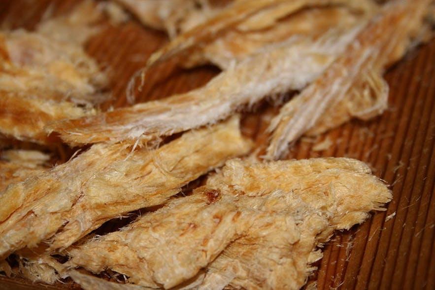 タラの干し物、写真 Richard Eriksson from Wikimedia commons