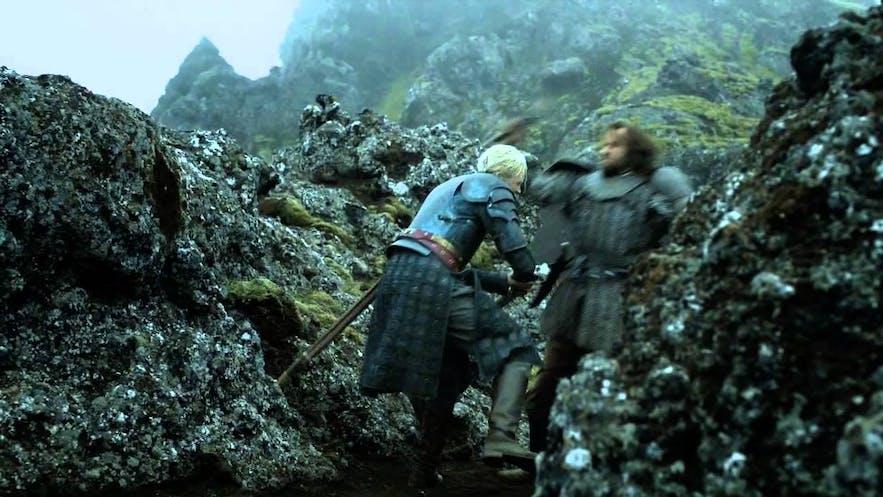 布蕾妮与猎狗之斗取景地冰岛Nesjavellir