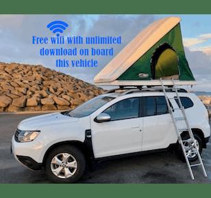 Dacia Duster mit Dachzelt 2017