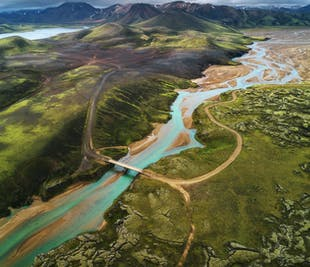 고요하고 한적한 아이슬란드 고원지대 | 8일 하이킹 & 캠핑 투어