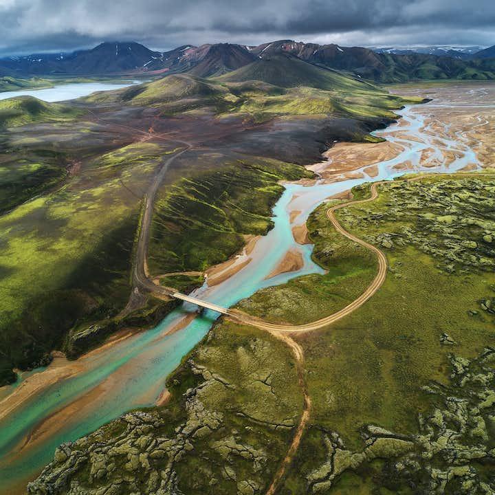 고요하고 한적한 아이슬란드 고원지대   8일 하이킹 & 캠핑 투어