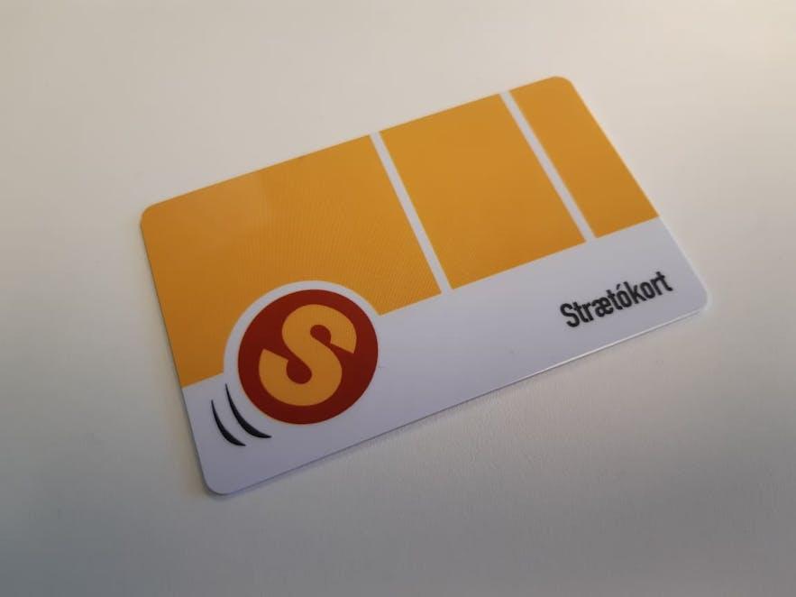 Strætó Bus Card