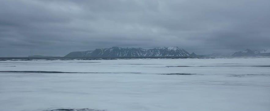 美国队长3:内战预告片中的冰岛取景镜头