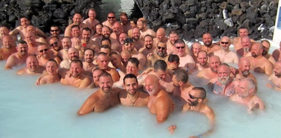 Gay celebrations in Iceland