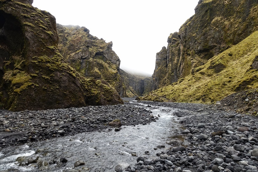 Stakkholtsgjá峡谷入口