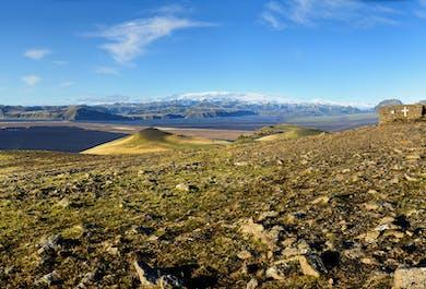 A hike to Hjörleifshöfði   The first settlers of Iceland