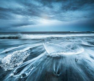 남부 해안 투어 |요쿨살론 빙하 호수, 비크, 폭포