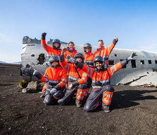 Quad-Tour zum DC-3 Flugzeugwrack | ab Südisland